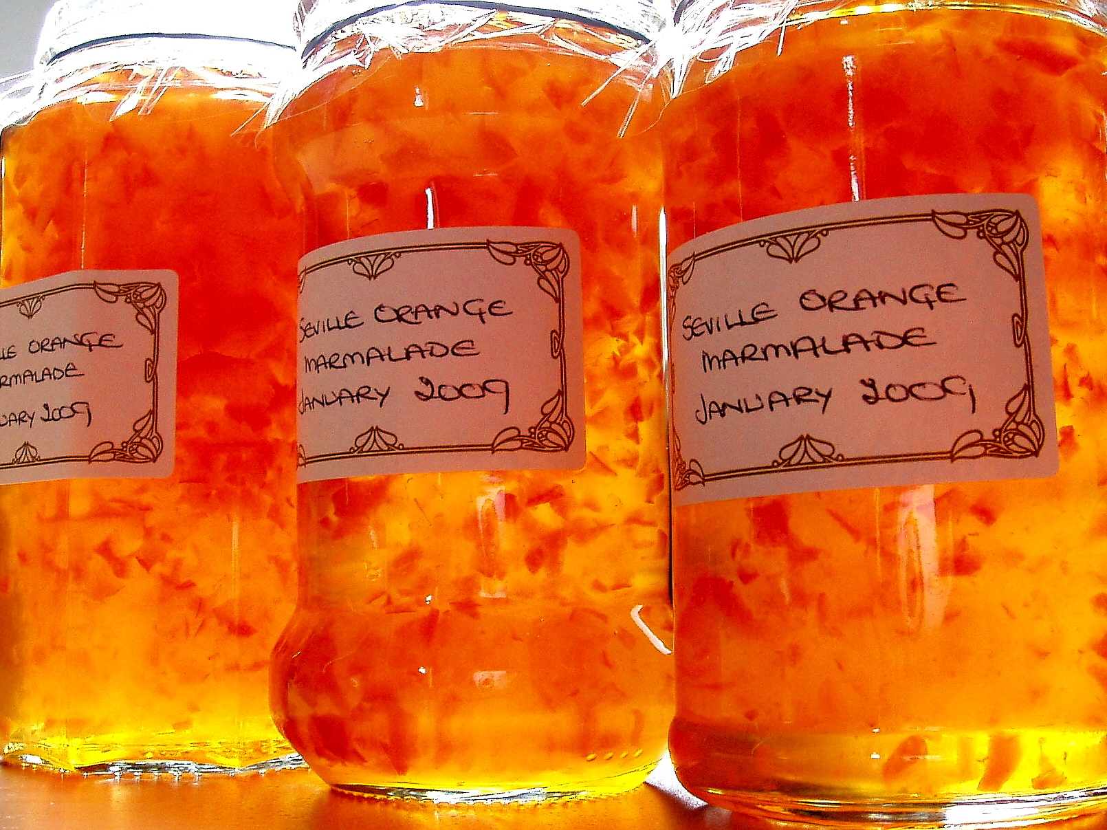 Homemade Marmalade Jam contains Herspiridin, a natural pigment (flavanone) which kills cancer